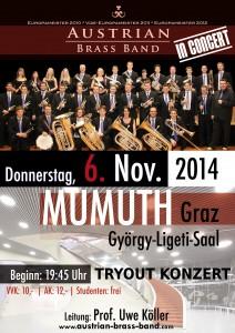 ABB Tryout-Konzert NOV 2014